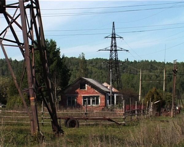 Дом рядом с ЛЭП