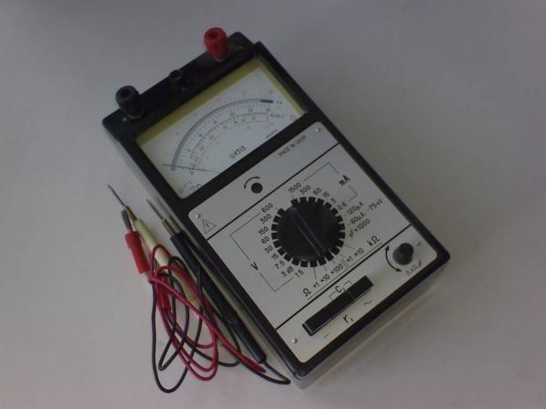 Аналоговый прибор авометр