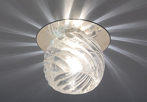 Для ламп накаливания выбирайте стеклянный светильник