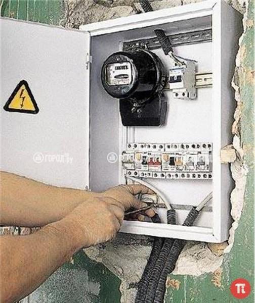 Для внутренней разводки электропроводки рекомендуется применять медный кабель