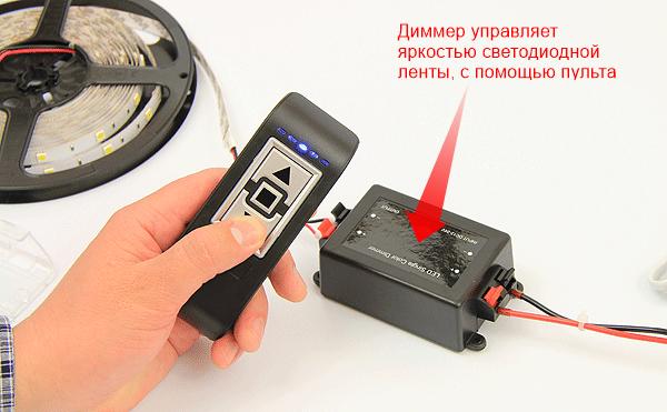 Модель с пультом дистанционного управления