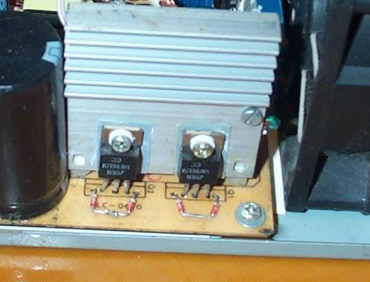 Транзисторы в блоке питания