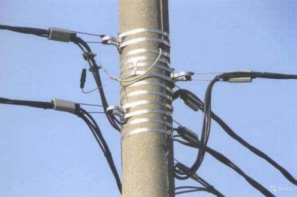 Провода СИП применяются в качестве воздушных линий электропередач