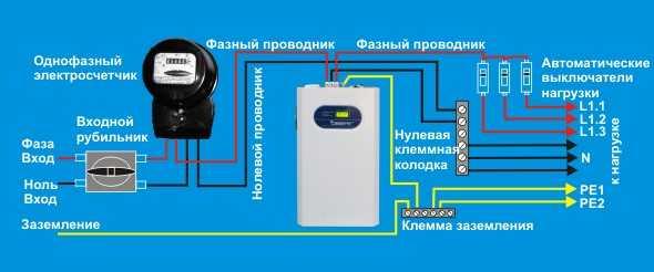 Схема подключения стабилизаторов напряжения