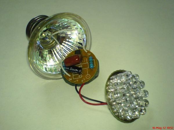 Светодиодная лампа 220в