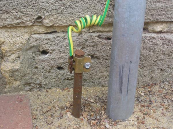 Заземление водопроводных труб