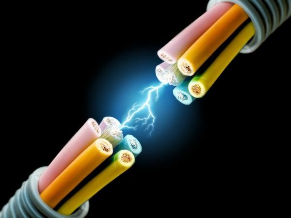 Разряд провода