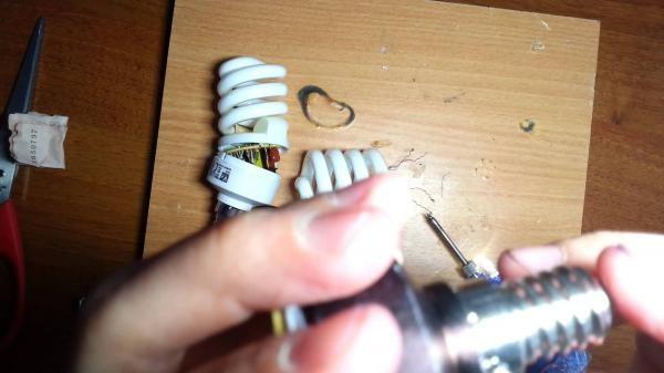 Устранение мигания лампы