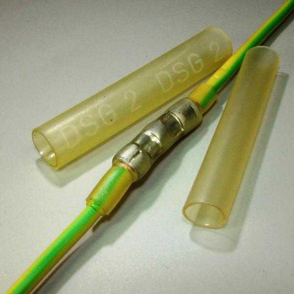 Прозрачные термоусаживаемые трубки