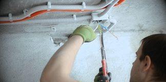 правила монтажа электропроводки