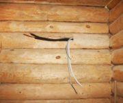 Электрическая проводка в деревянном доме – правила, нюансы и требования