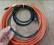 Саморегулирующийся кабель для обогрева водопровода – конструкция и способ монтажа