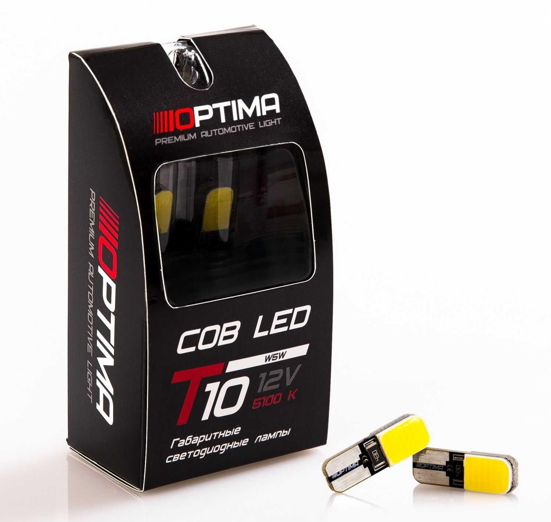 Светодиодные лампы COB