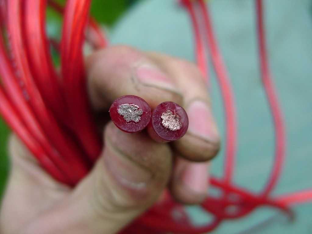 расчет кабеля по мощности и по его длине