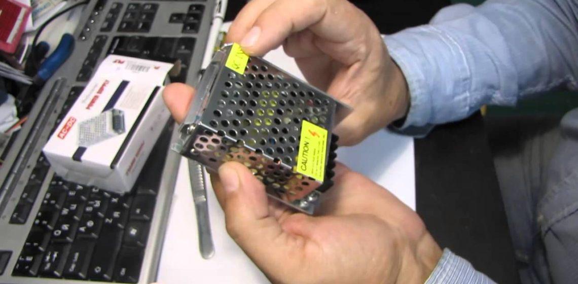 трансформатор для светодиодных лент 12 вольт