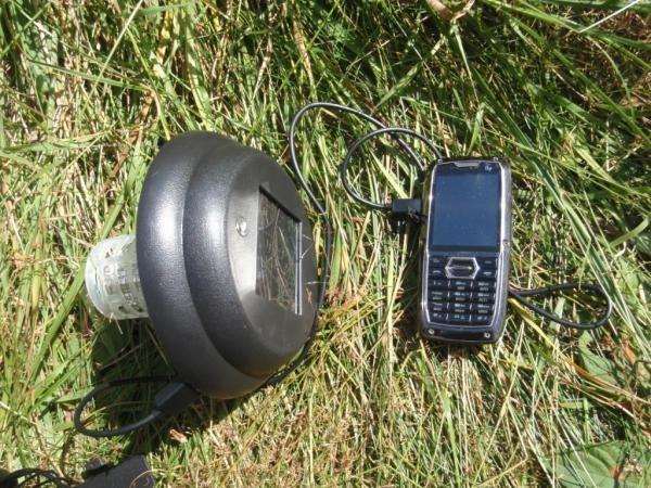 Солнечная батарея для зарядки телефона
