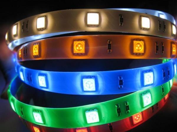Разноцветки светодиодных лент