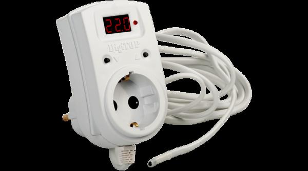 Терморегулятор с выносным датчиком