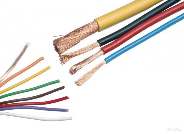 Провода разных диаметров