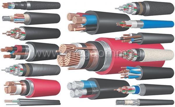 Провода разной толщины