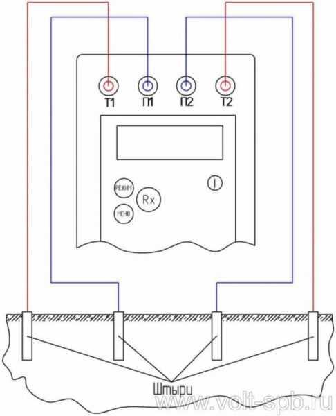 Соединение электродов с аппаратом