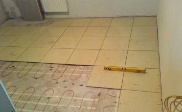 электрический теплый пол под плитку