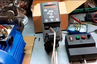 Частотный регулятор для асинхронного двигателя