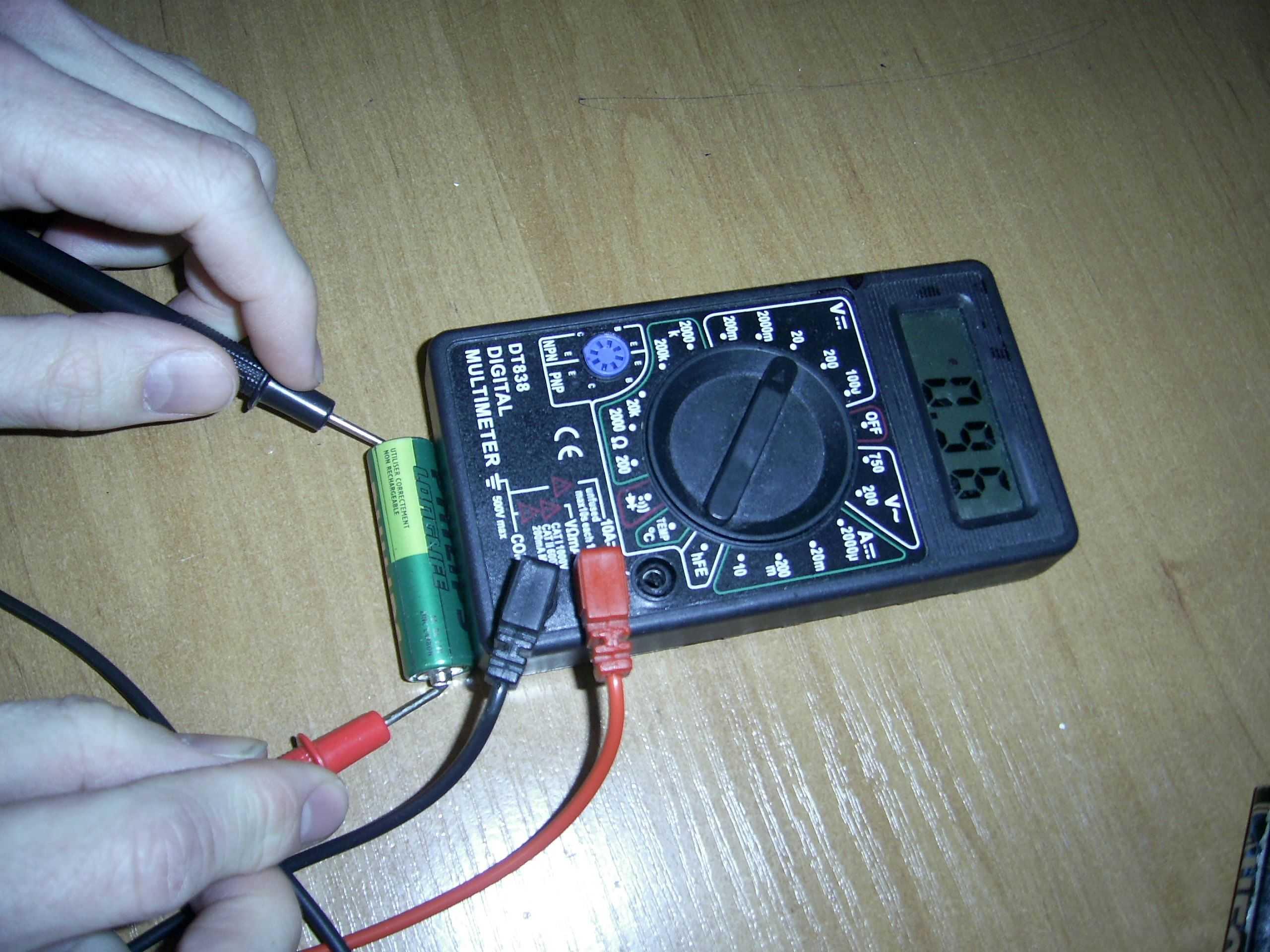 Как правильно проверить сопротивление мультиметром