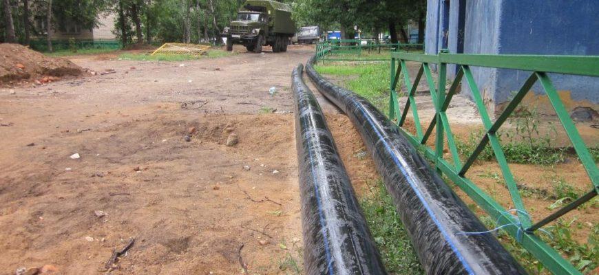 Прокладка кабеля в траншее