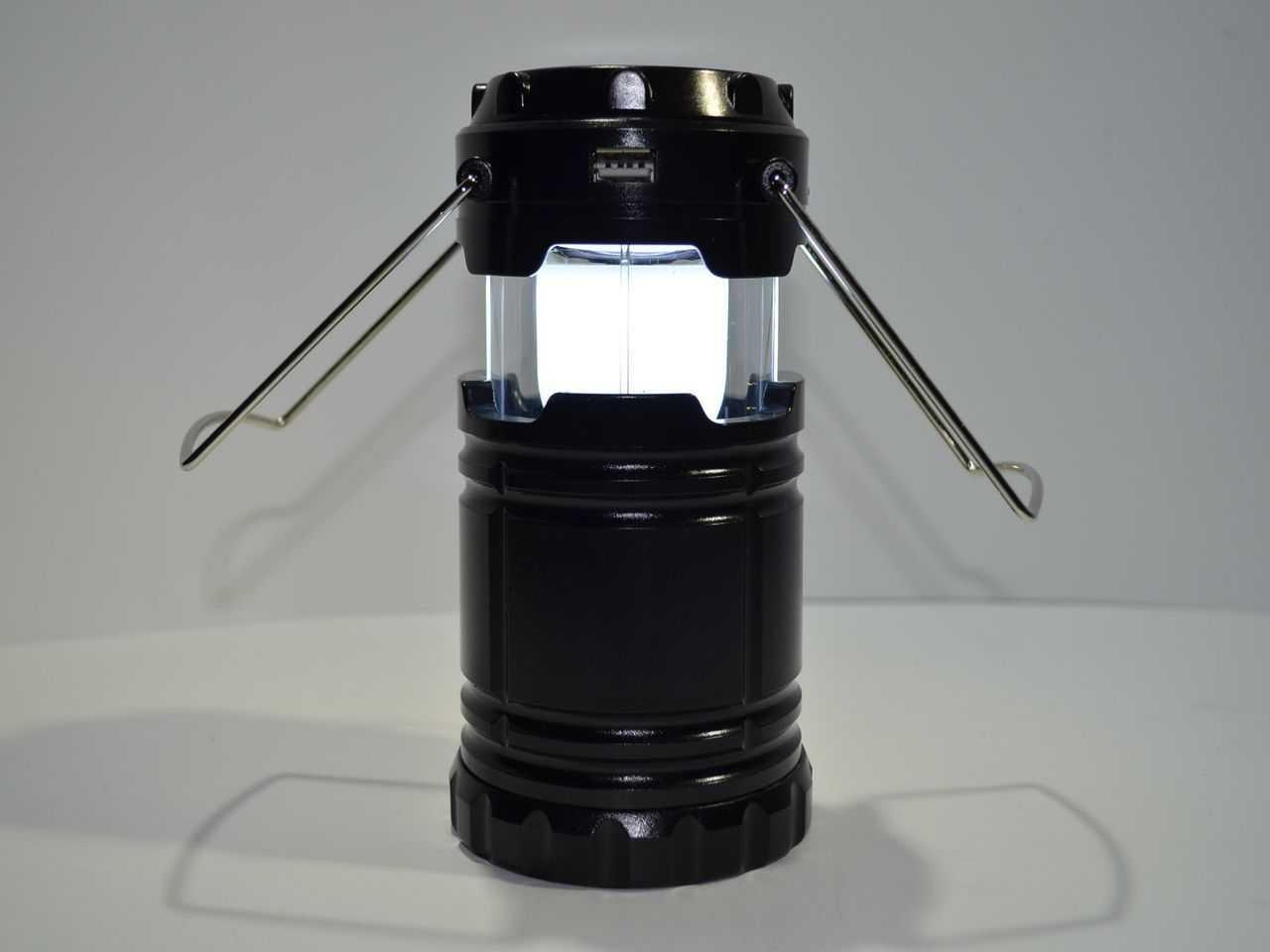 Светодиодный аккумуляторный фонарь-лампа