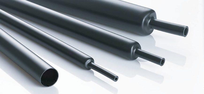 Термоусадочные трубки с клеем