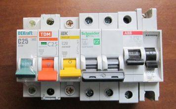 автоматический выключатель по току