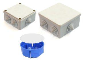 электрические распределительные коробки