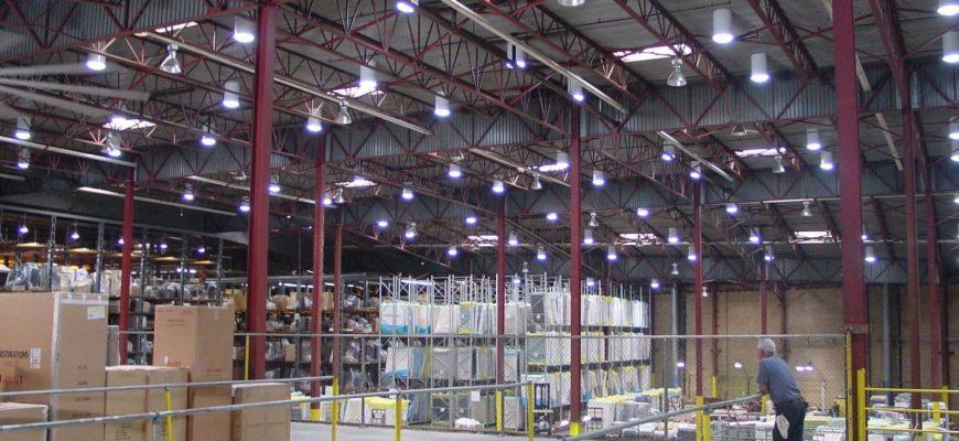 нормы освещенности производственных помещений