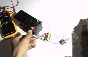 простейший преобразователь с 12 на 220 вольт