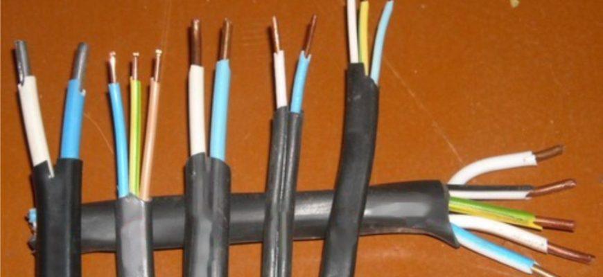 провод для проводки дома