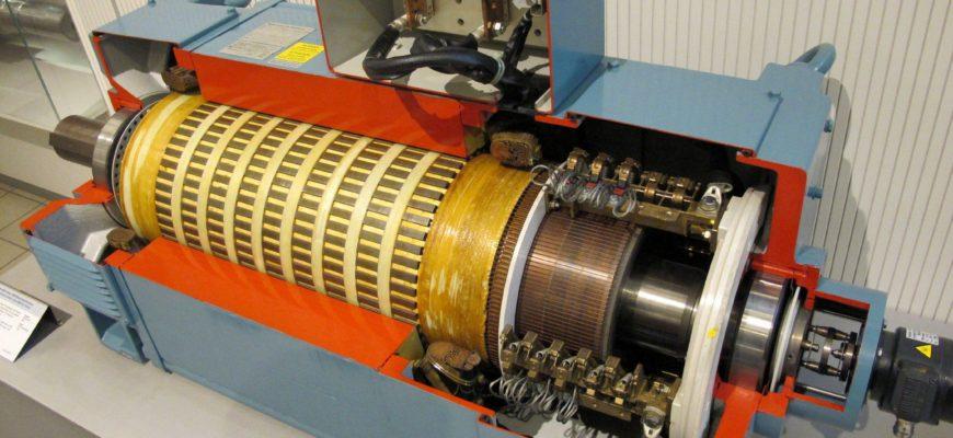 синхронный и асинхронный двигателя