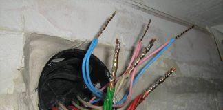 соедининение алюминиевого провода с медным