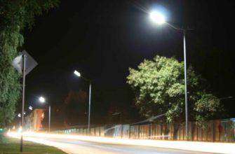 светодиодные фонари для уличного освещения