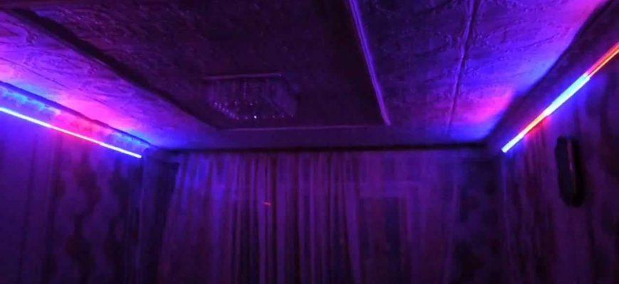 светомузыка из светодиодной ленты
