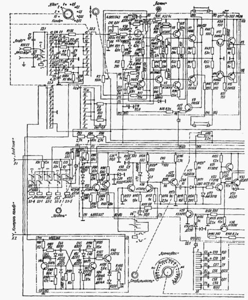 осциллограф с1 72-схема