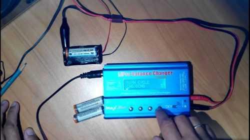 Ni-Mh-аккумулятор-зарядка