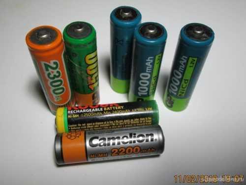 Ni Mh аккумуляторы батарейки
