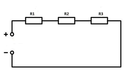 Последовательное подключение резисторов