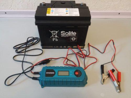 Свинцово-кислотный аккумулятор-зарядка