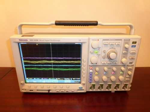 Тектроникс MSO 4104 осциллограф