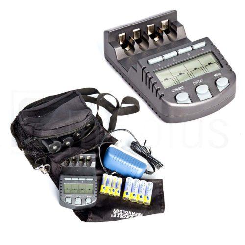 Умное зарядное устройство для 4 аккумуляторов