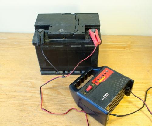 гелевый аккумулятор-зарядка