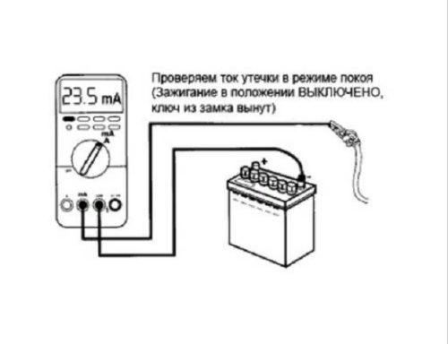 как проверить акуумулятор