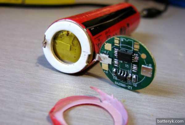 литий-ионный аккумулятор-восстановить